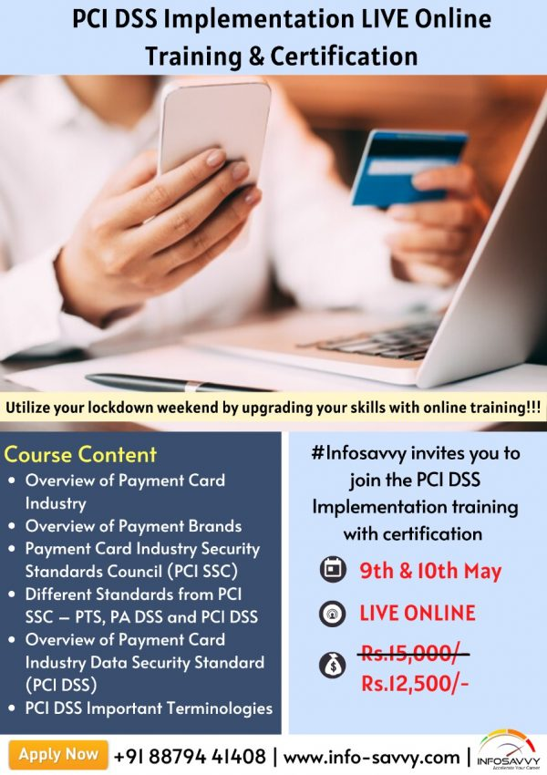 PCI DSS Training & certification