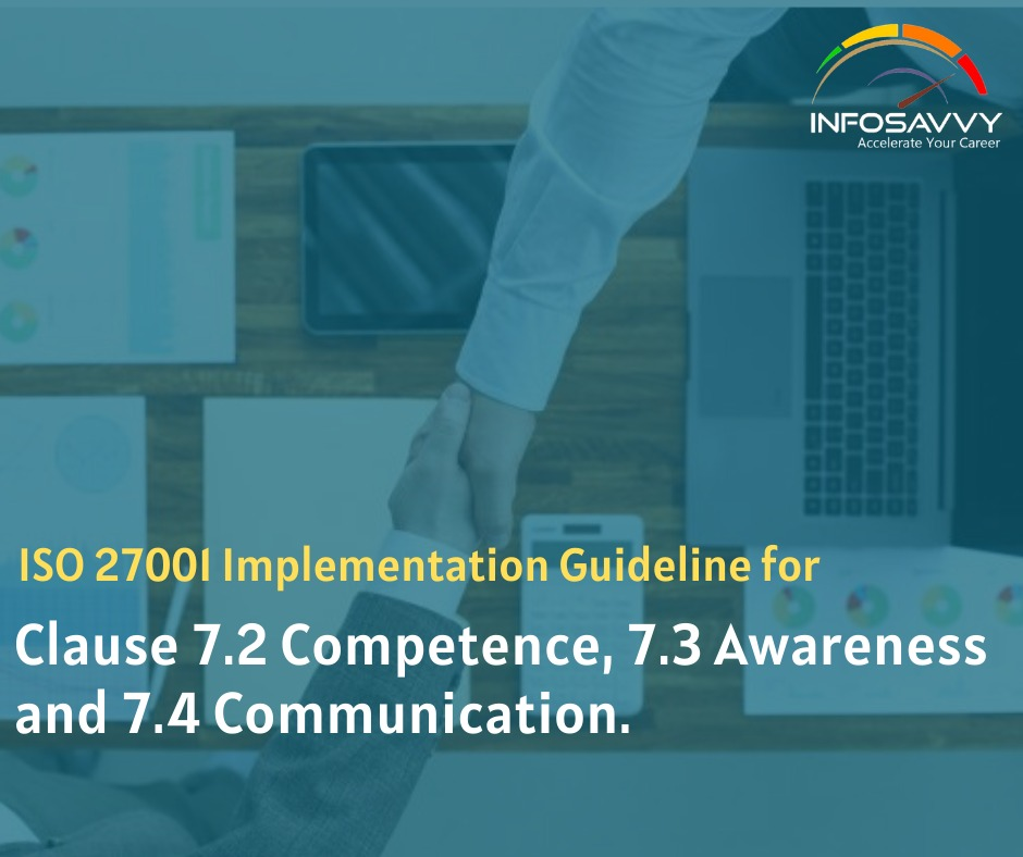 Clause 7.2 Competence-infosavvy