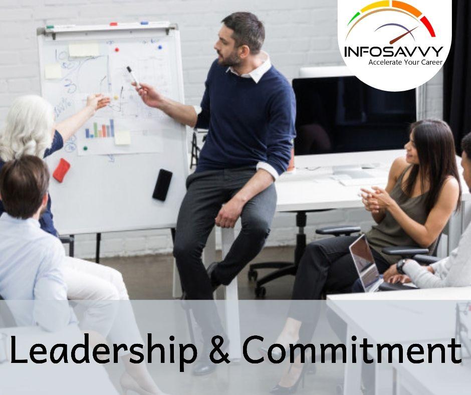 Leadership & Commitment-infosavvy