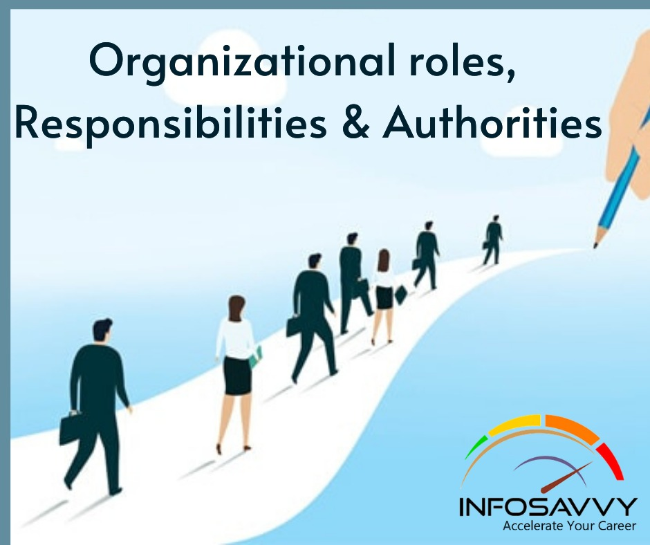 Organizational roles-infosavvy