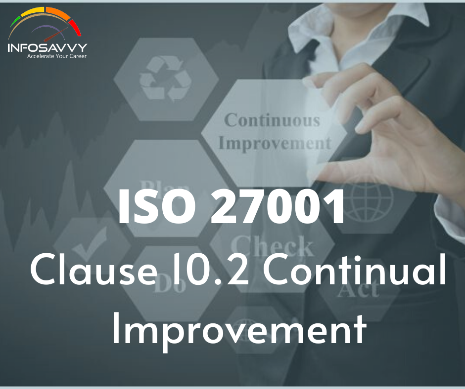 ISO 27001 Clause 10.2 Continual Improvement