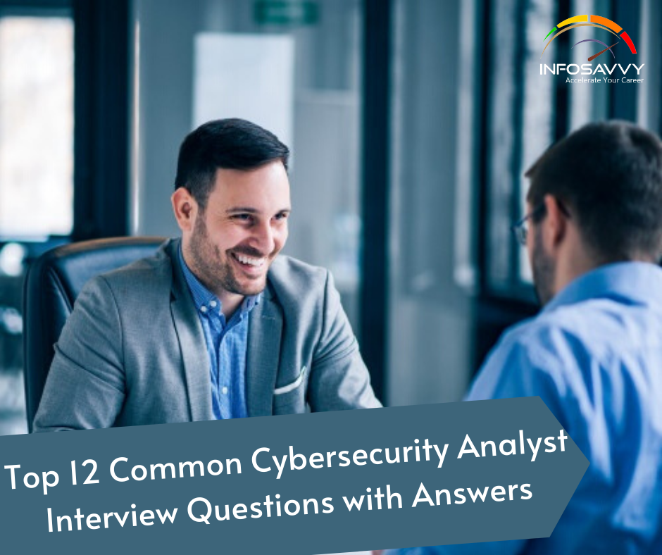 Top-12-Commo- Cybersecurity-Analyst-Interview-Questions-with-Answers
